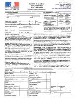 formulaire de réservation